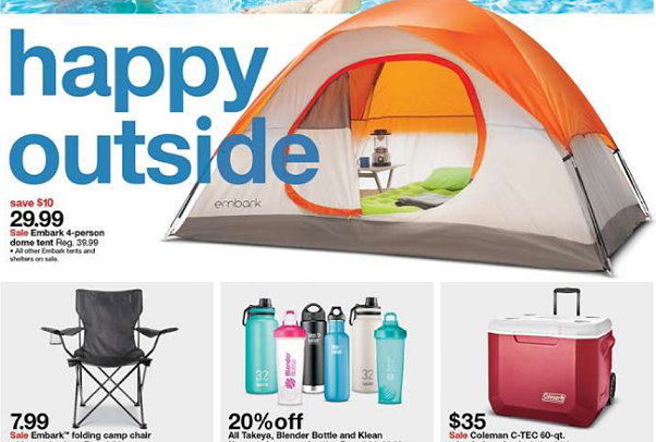 You can also save even more by looking for items that are on sale both in stores and online. There are several in-store sales going on and Target.com has ...  sc 1 st  Totally Target & Target: Save On Camping Gear Coolers Fitness Gear u0026 More Online ...