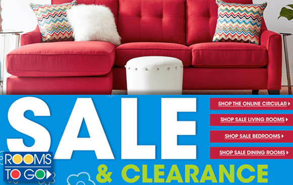 Rooms To Go: Get Big Savings On Sale & Clearance | TotallyTarget.com