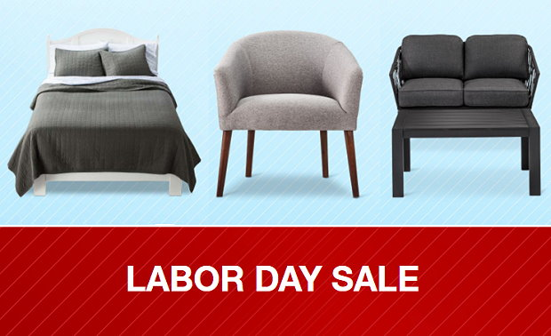 30  off on select patio  home and furniture updates during their  Memorial Day sale  Plus  you can save an extra 15  off your purchases with promo  code. Target com Labor Day Home Sale  Save Up To 30  Off Plus Get An