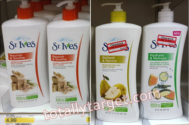 St. ives lotion coupon