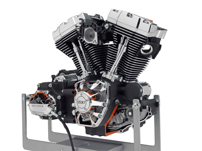 2012 Harley-Davidson Twin Cam 103 V-Twin Engine Review