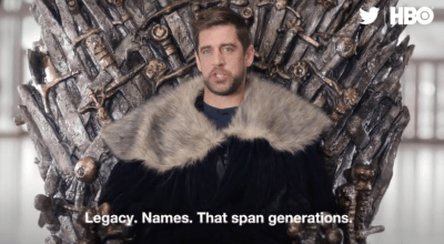 Aaron Rodgers To Appear In Next Episode of 'Game of Thrones' (VIDEO) | Total Pro Sports