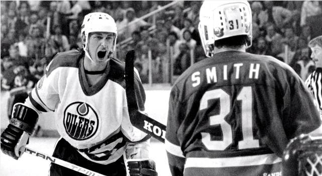 Gretzky Billy Smith