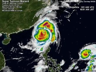 Typhoon Meranti