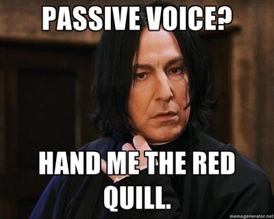 Snape Passive Voice