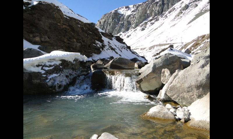 Reporte Fotográfico del río Yeso invernal...