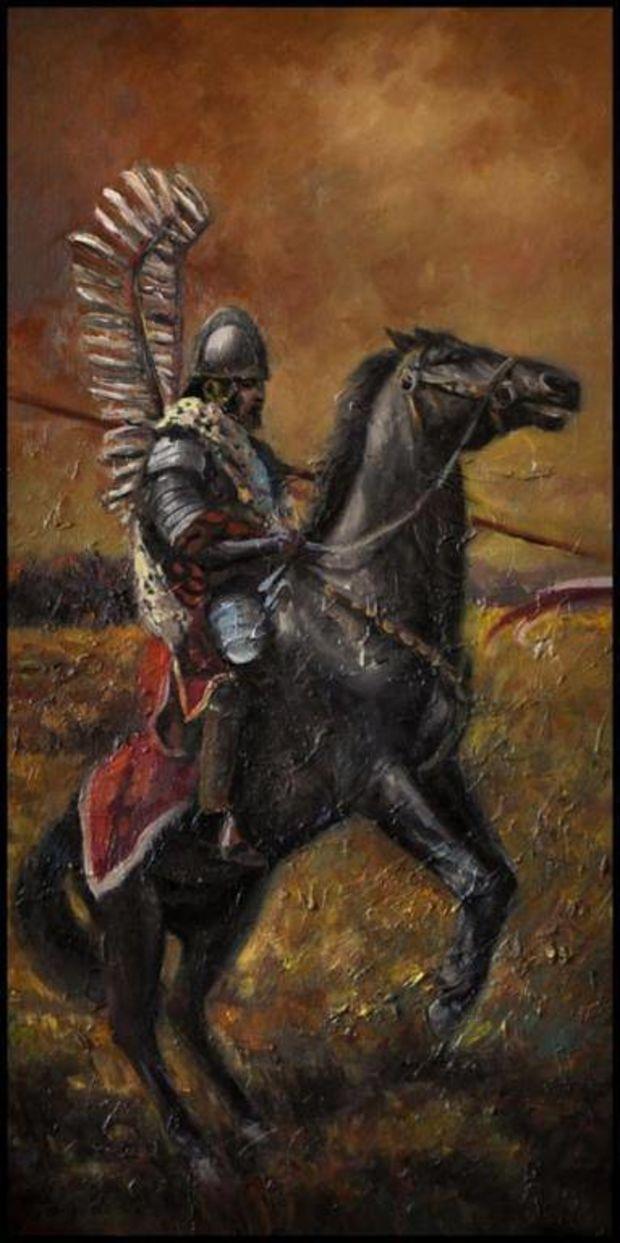Edward Hd Wallpaper Polski Husarz Husaria Malarstwo Obraz Gierlach Damian