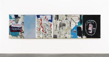 Jean-Michel basquiat, Brother's Sausage (1983), estimado entre US$ 15 e US$ 20 milhões, na Sotheby's
