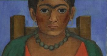 Frida Kahlo, Niña con collar, 1929.