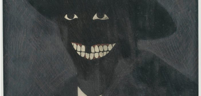 Kerry James Marshall, A Portrait of the Artist As a Shadow of His Former Self (1980)
