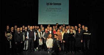 Performance com 40 artistas marcou o anúncio do título da 15ª Bienal de Istambul