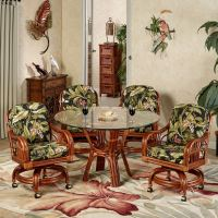 Leikela Wailea Coast Tropical Dining Furniture Set