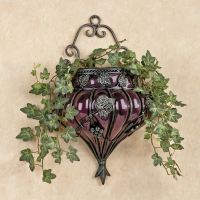 Grape Vase Wall Accent
