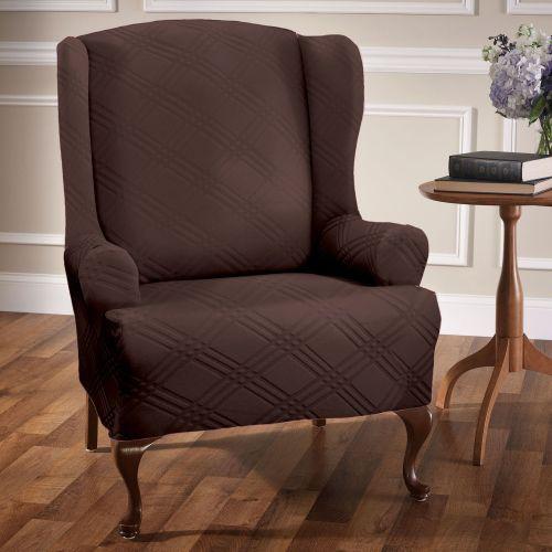 Medium Crop Of Wingback Chair Slipcovers