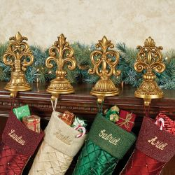 Congenial Mantle Crate Barrel Stocking Hers Touch To Zoom Fleur De Lis Stocking Her Set Stocking Hers Mantle Uk
