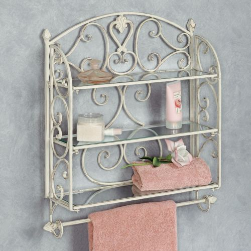 Medium Crop Of Metal Bathroom Wall Shelf