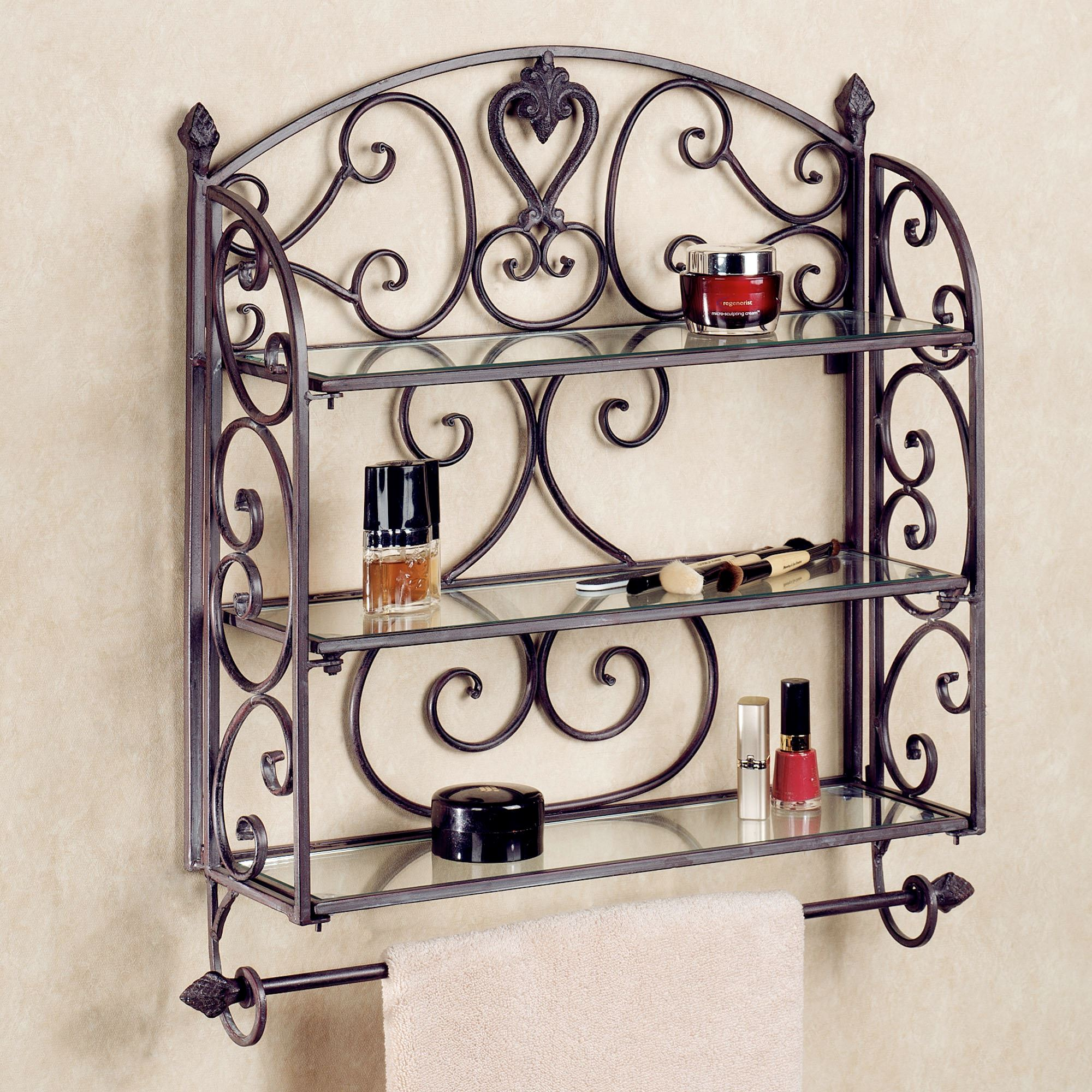 Fullsize Of Decorative Bathroom Wall Shelves