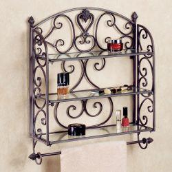 Small Crop Of Decorative Bathroom Wall Shelves