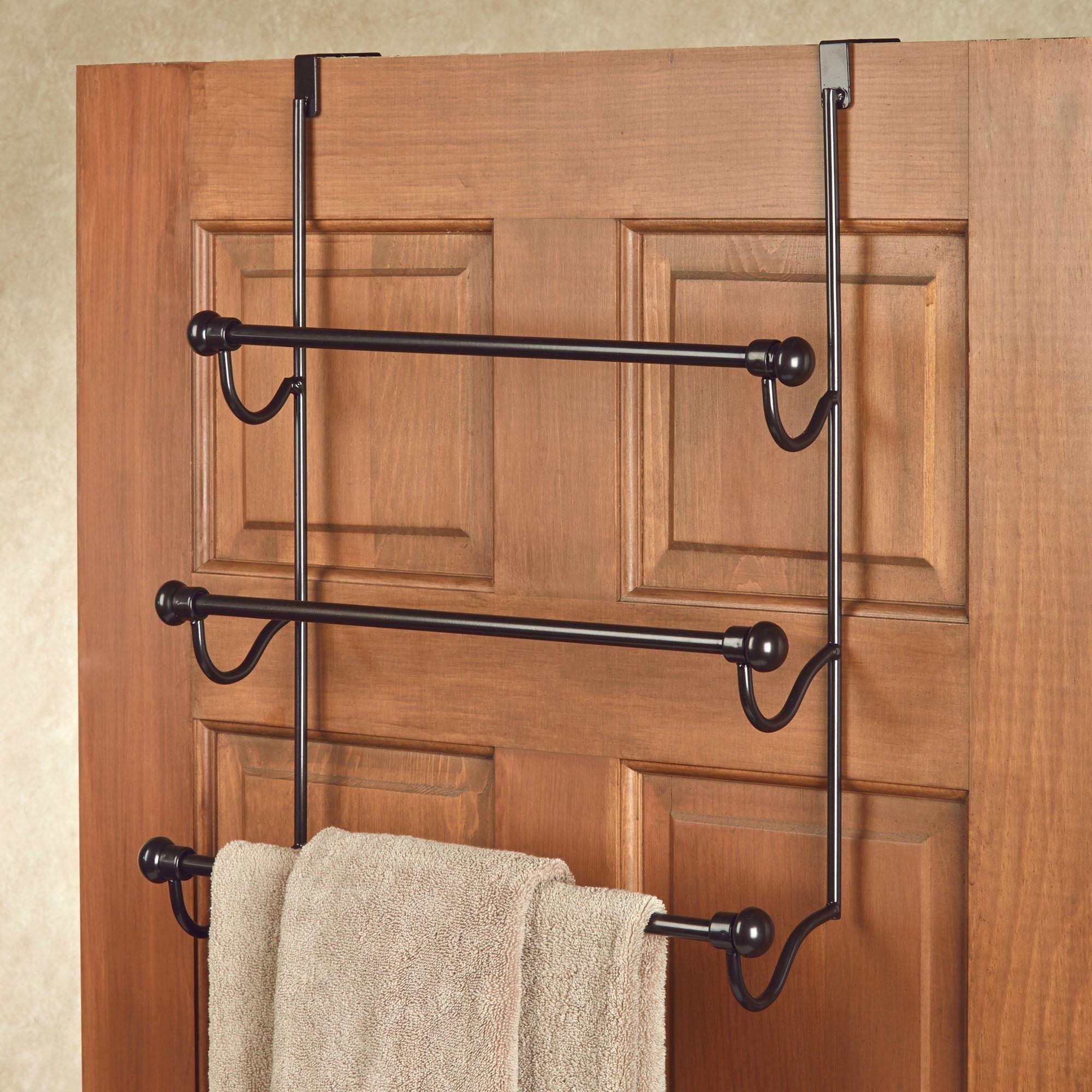 Over the door bronze towel rack old world bronze click to expand