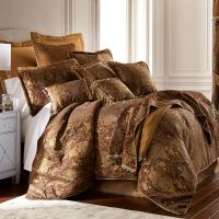 China Art Asian Inspired Brown Comforter Bedding by Sherry ...