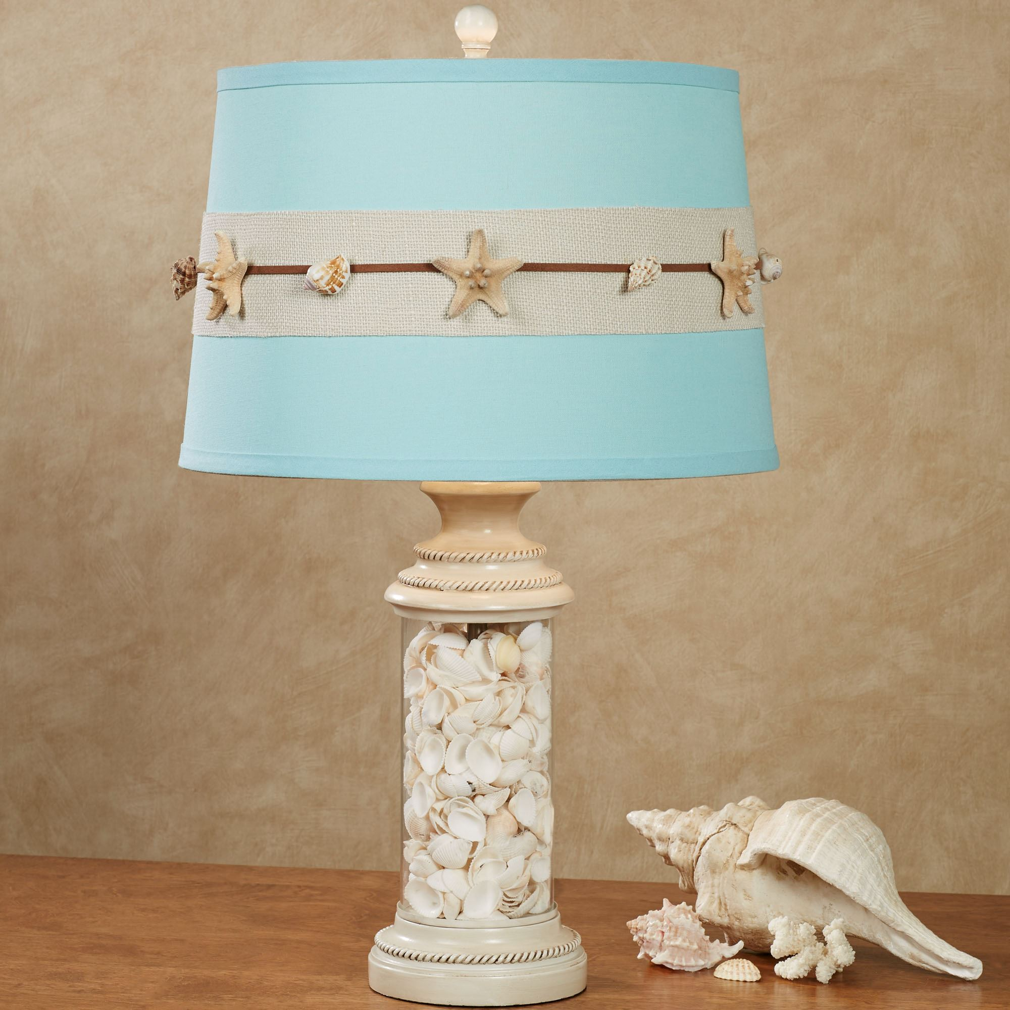 Coralia Coastal Seashell Table Lamp