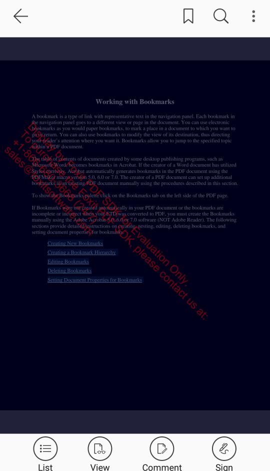 Foxit MobilePDF SDK Demo App (10)