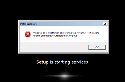 windows 7 starting service fails