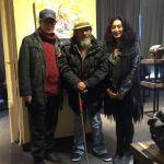 Shirley and Artist Yin and his uncle Yin Guang Zhong