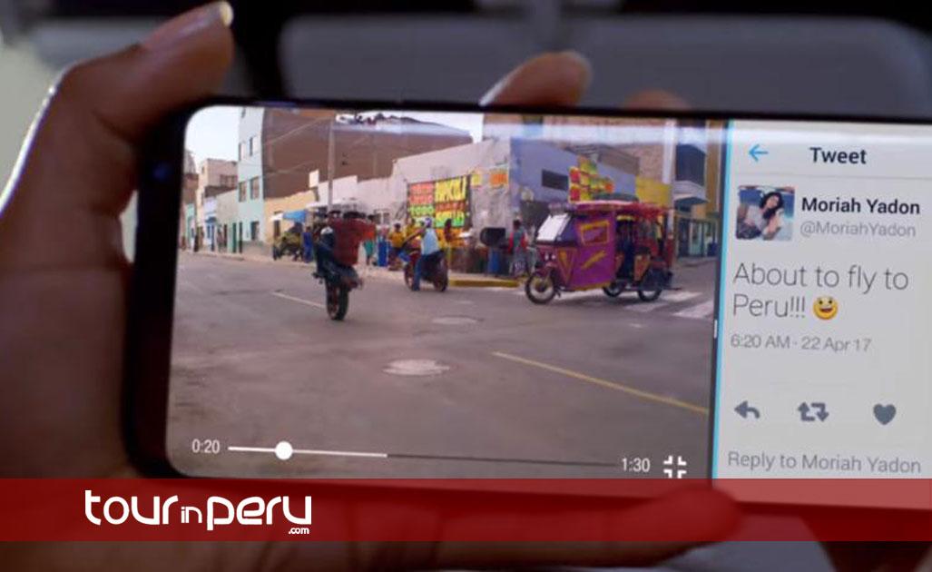 Samsung Galaxy S8 Travel Guide Headlines Peru