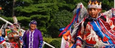 Aboriginal Dancers at Joseph Brant Day