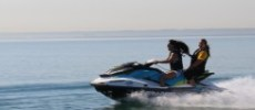 jetski burlington - open water