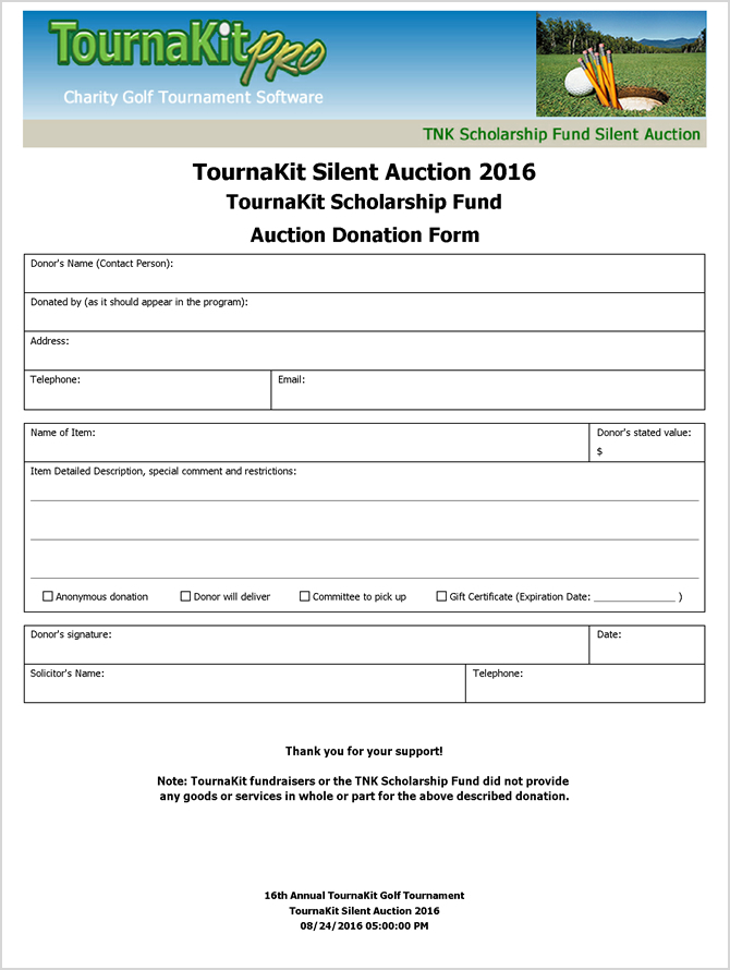 Charity Auction Forms Images - 108 Silent Auction Bid Sheet Templates - Donation Form Templates