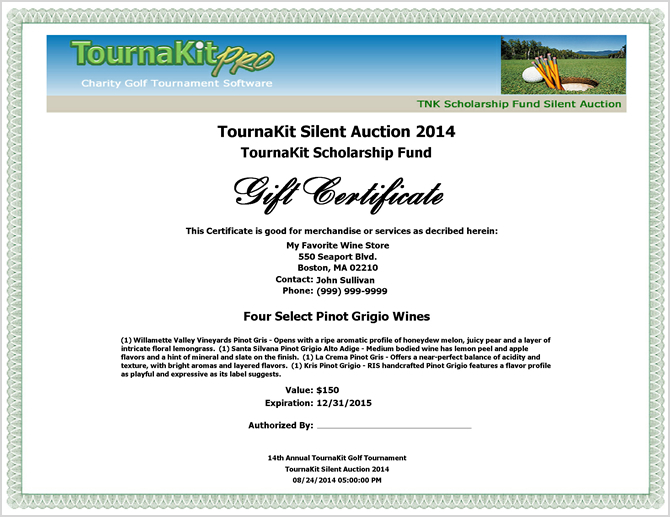 Charity Auction Forms Images - 108 Silent Auction Bid Sheet Templates - donation certificate template