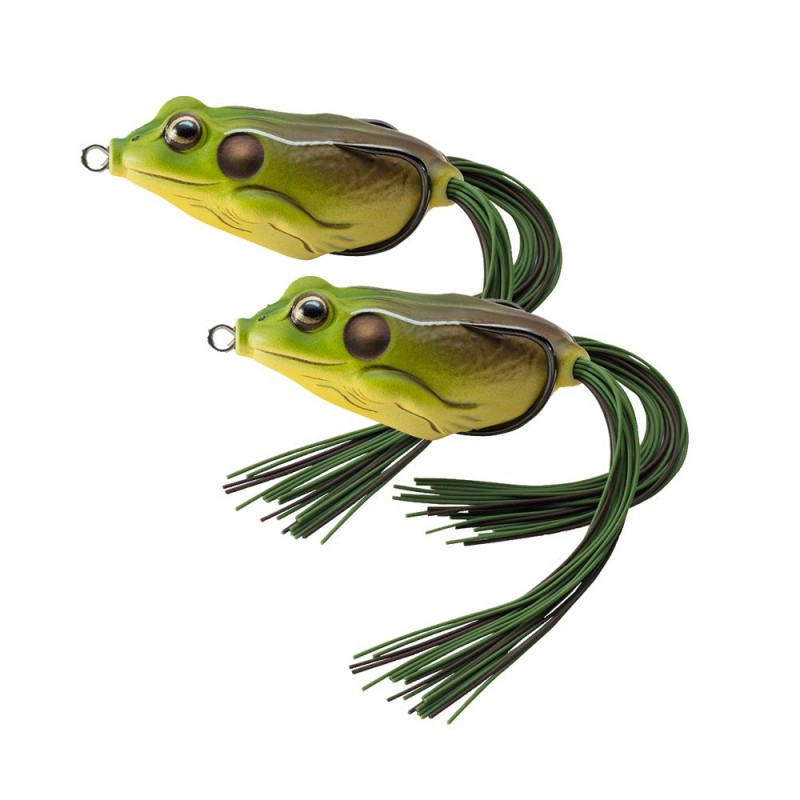 Live Target Hollow Body Frog - 2 Pack Tournament Tackle - frog body