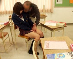 【JKレイプ盗撮動画】出来の悪いロリ可愛い女子校生の援交が教師バレ…淫行現場を隠しカメラで盗撮…