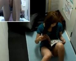 【無修正盗撮動画】ネカフェでバイブ取り出してオナニーする素人ギャルを隠しカメラ撮り流出映像ww