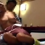【セックス盗撮動画】腹痛を偽って旅館の巨乳女将を呼び出した客…着物を脱がせて生処理させる一部始終…