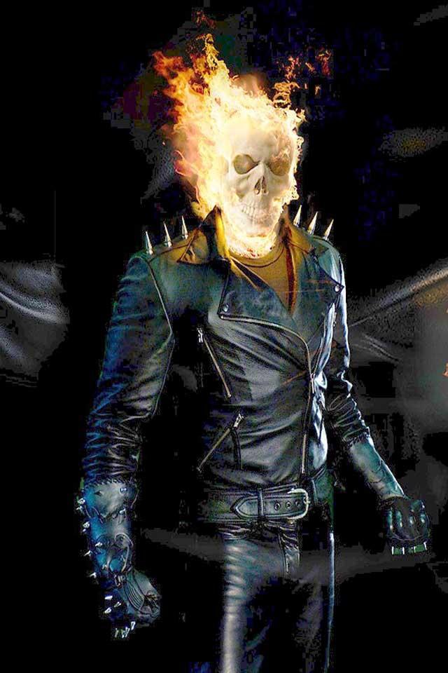 Wallpaper Smartphone 3d Ghost Rider 5 Fonds D 233 Cran Gratuits Pour Ton Mobile