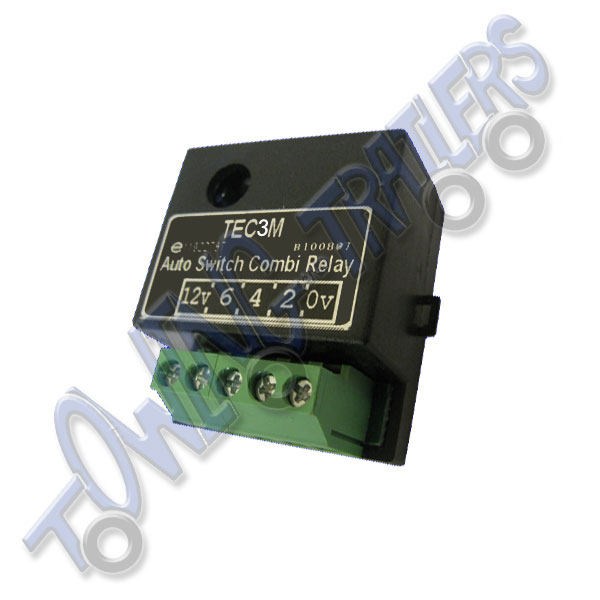 30Amp S Type 12v TEC3M Self Switching Dual Charge Relay - Towing and
