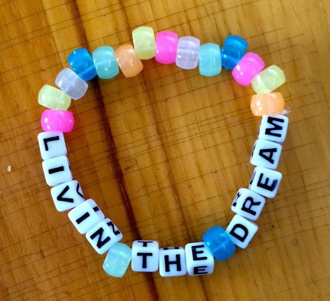 Livin the dream bracelet
