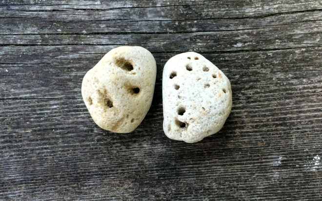 Rocks with holes