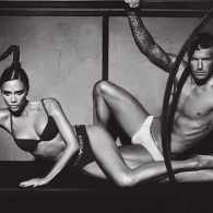 David and Victoria Beckham Pair Up for Armani Underwear