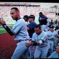 A-Rod Scores a Piece of Derek Jeter's Ass at Yankees – Angels Game