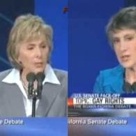 Watch: Carly Fiorina Debates Barbara Boxer on Gay Marriage