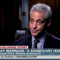 Chicago Mayor Rahm Emanuel: I'll 'Push' for Marriage Equality