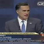 Romney Brags About Beating Down Gay Marriage at CPAC, Vows to Pass Federal Amendment Banning It: VIDEO