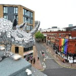 'Rhinestone Rhino' Unveiled in Birmingham UK's Gay Village