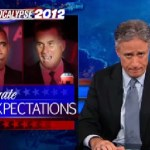 Jon Stewart Mocks Obama and Romney Attempts to Lower Expectations About Their Debate: VIDEO
