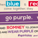 Will Obama And Romney 'Go Purple' To Support LGBT Youth?