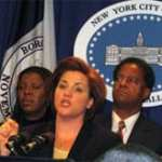 Christine Quinn Leads in New NYC Mayoral Poll